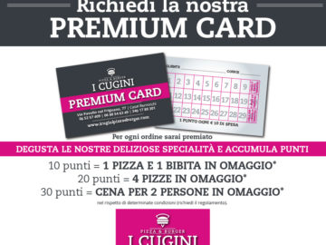 Richiedi la nostra Premium Card