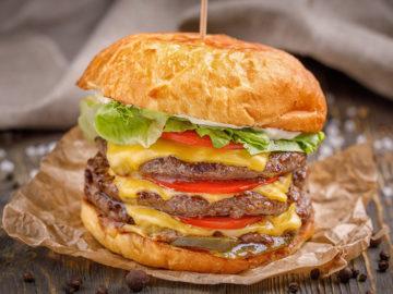 Largo ai Nuovi Menù Burger XXL con triplo Hamburger da 150gr.